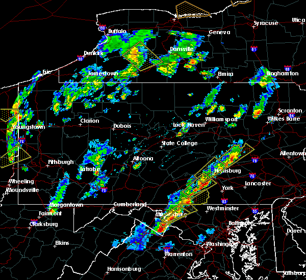 Radar Image for Severe Thunderstorms near Dillsburg, PA at 5/29/2020 2:47 PM EDT