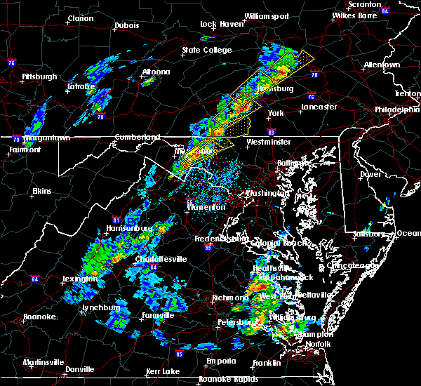 Radar Image for Severe Thunderstorms near Sharpsburg, MD at 5/29/2020 2:47 PM EDT