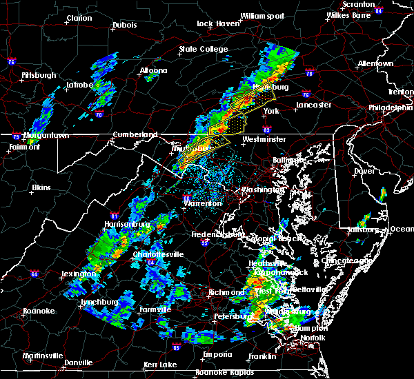 Radar Image for Severe Thunderstorms near Walkersville, MD at 5/29/2020 2:56 PM EDT