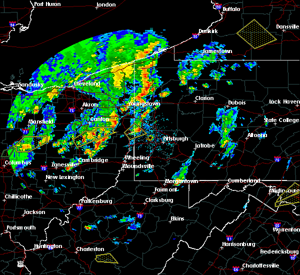 Radar Image for Severe Thunderstorms near Zoar, OH at 5/29/2020 3:10 PM EDT