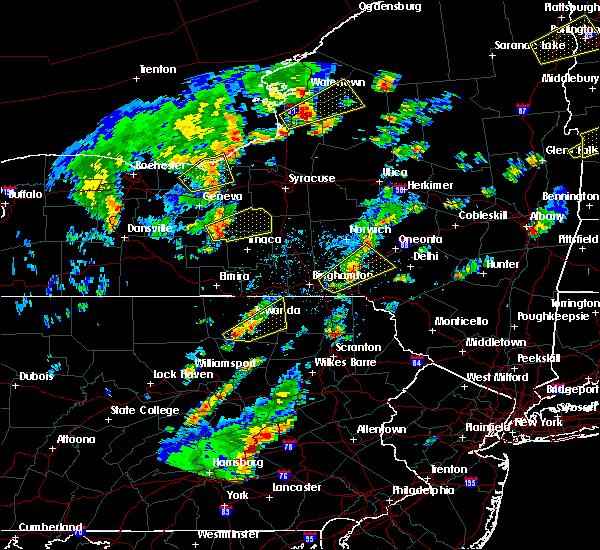 Radar Image for Severe Thunderstorms near Trumansburg, NY at 5/29/2020 3:34 PM EDT