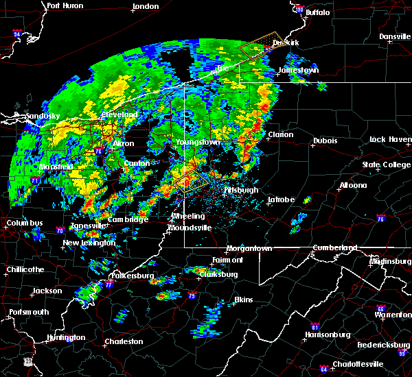 Radar Image for Severe Thunderstorms near Industry, PA at 5/29/2020 4:12 PM EDT