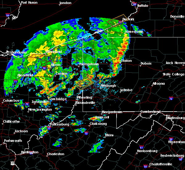 Radar Image for Severe Thunderstorms near Curtisville, PA at 5/29/2020 4:27 PM EDT