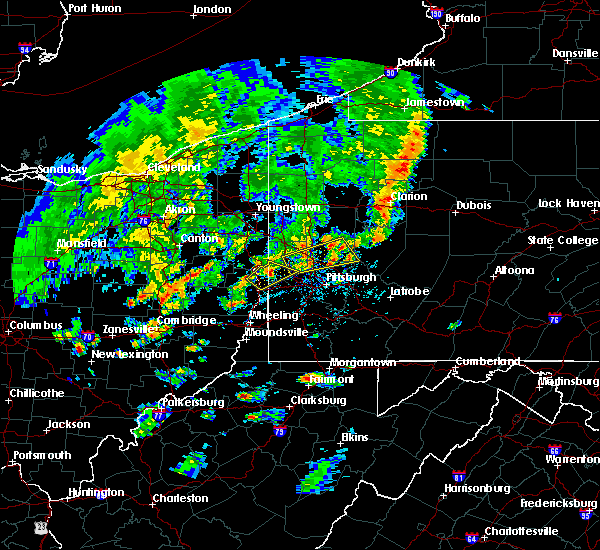 Radar Image for Severe Thunderstorms near Industry, PA at 5/29/2020 4:37 PM EDT
