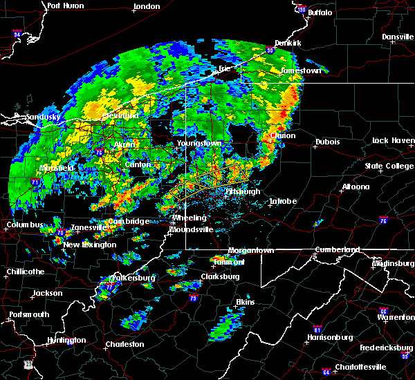 Radar Image for Severe Thunderstorms near Curtisville, PA at 5/29/2020 4:41 PM EDT