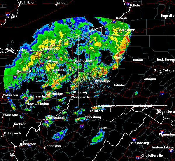 Radar Image for Severe Thunderstorms near Curtisville, PA at 5/29/2020 4:51 PM EDT
