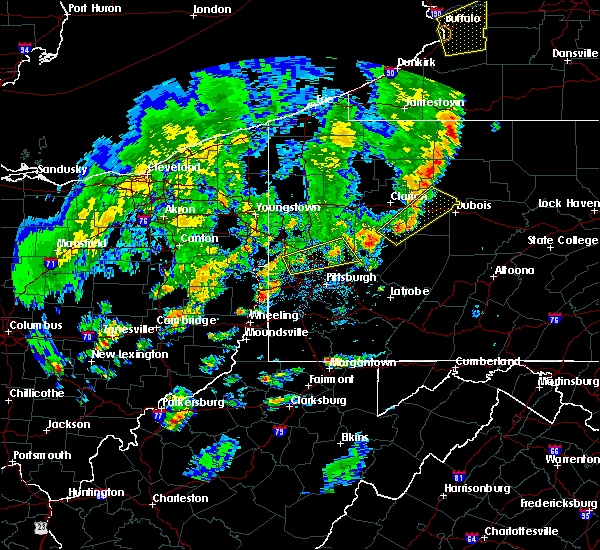 Radar Image for Severe Thunderstorms near Curtisville, PA at 5/29/2020 4:59 PM EDT