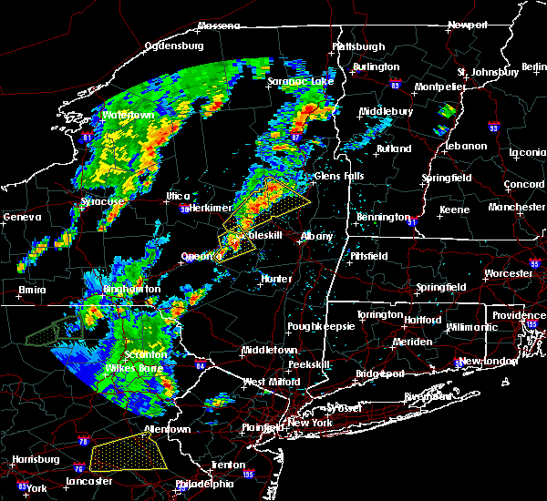 Radar Image for Severe Thunderstorms near Altamont, NY at 5/29/2020 5:27 PM EDT