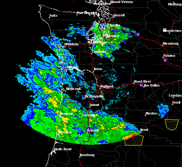 Radar Image for Severe Thunderstorms near Tumalo, OR at 5/30/2020 1:45 PM PDT