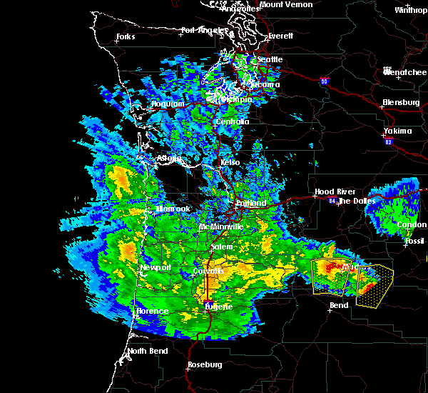 Radar Image for Severe Thunderstorms near Metolius, OR at 5/30/2020 2:49 PM PDT