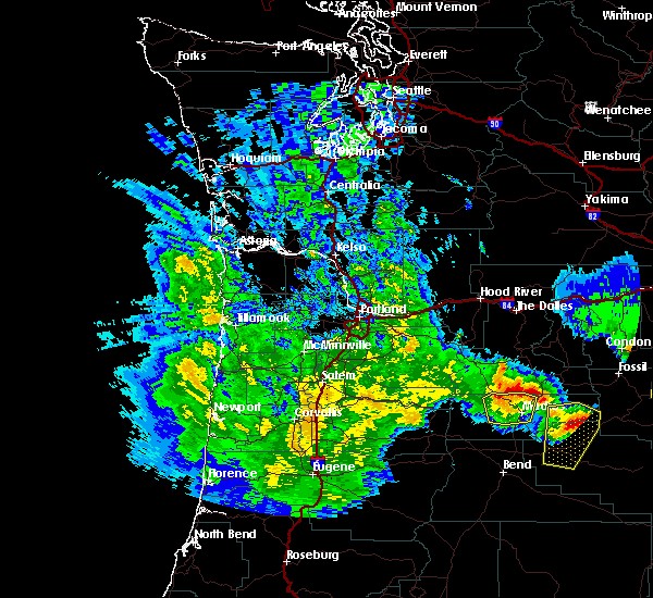 Radar Image for Severe Thunderstorms near Pine Hollow, OR at 5/30/2020 3:01 PM PDT