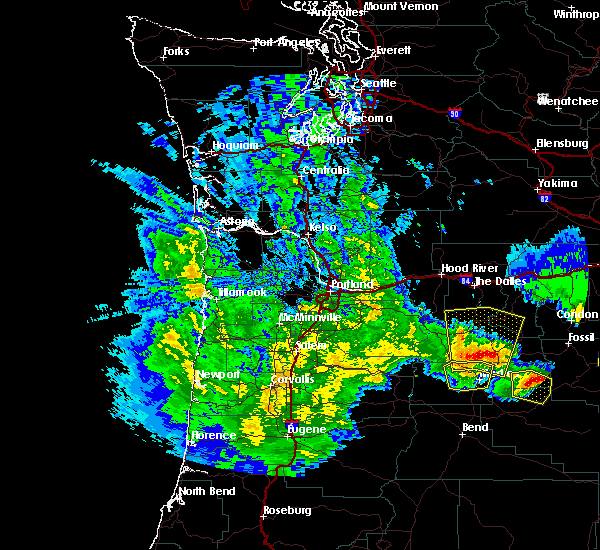 Radar Image for Severe Thunderstorms near Pine Hollow, OR at 5/30/2020 3:09 PM PDT