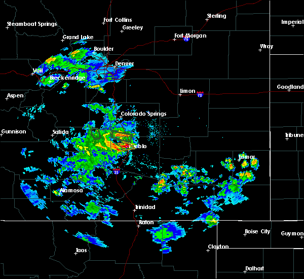 Radar Image for Severe Thunderstorms near Pueblo West, CO at 5/30/2020 5:01 PM MDT