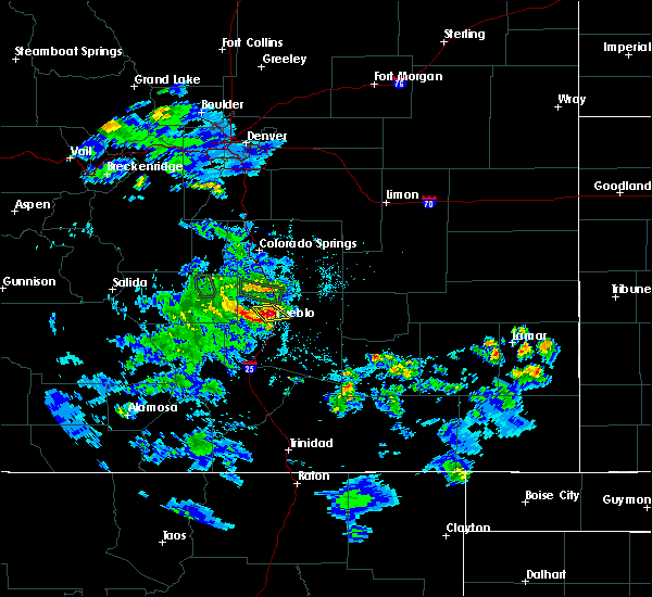 Radar Image for Severe Thunderstorms near Pueblo West, CO at 5/30/2020 5:12 PM MDT