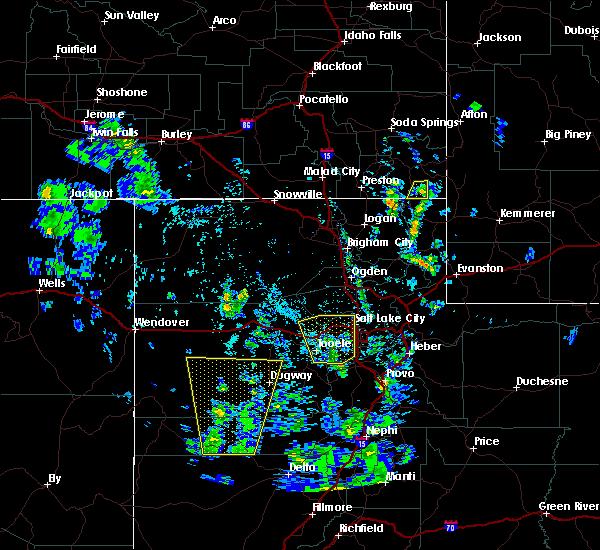 Radar Image for Severe Thunderstorms near Randolph, UT at 5/30/2020 5:16 PM MDT