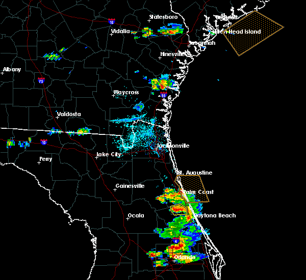 Radar Image for Severe Thunderstorms near Bunnell, FL at 5/30/2020 7:19 PM EDT