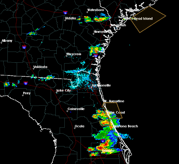 Radar Image for Severe Thunderstorms near Bunnell, FL at 5/30/2020 7:29 PM EDT