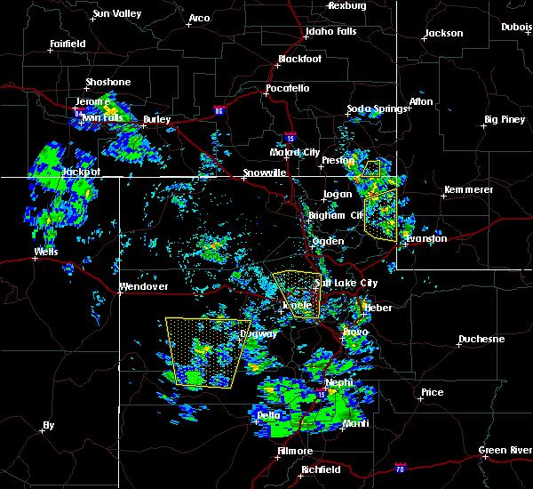 Radar Image for Severe Thunderstorms near Randolph, UT at 5/30/2020 5:34 PM MDT