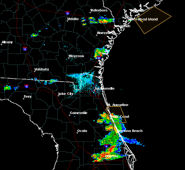 Radar Image for Severe Thunderstorms near Bunnell, FL at 5/30/2020 7:39 PM EDT