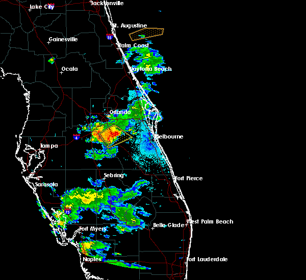 Radar Image for Severe Thunderstorms near Buenaventura Lakes, FL at 5/30/2020 8:59 PM EDT