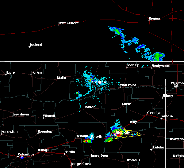 Radar Image for Severe Thunderstorms near Terry, MT at 5/31/2020 5:26 PM MDT