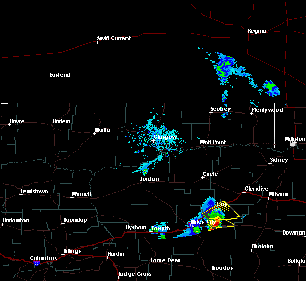 Radar Image for Severe Thunderstorms near Terry, MT at 5/31/2020 5:55 PM MDT