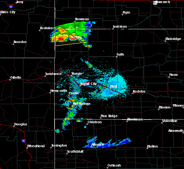 Radar Image for Severe Thunderstorms near Buffalo, SD at 5/31/2020 8:00 PM MDT