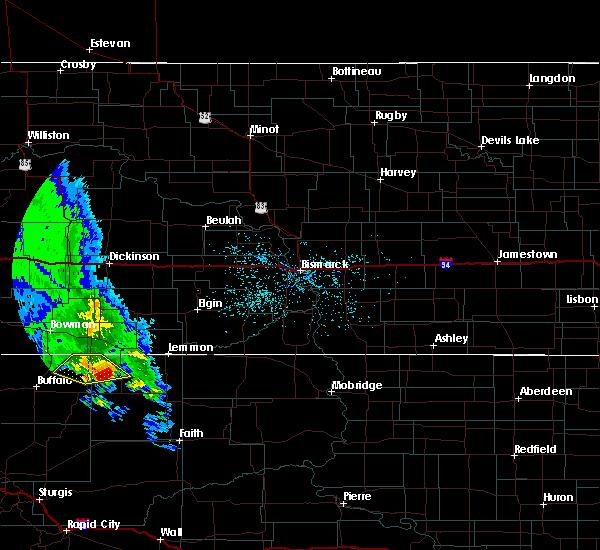 Radar Image for Severe Thunderstorms near Lemmon, SD at 5/31/2020 8:58 PM MDT