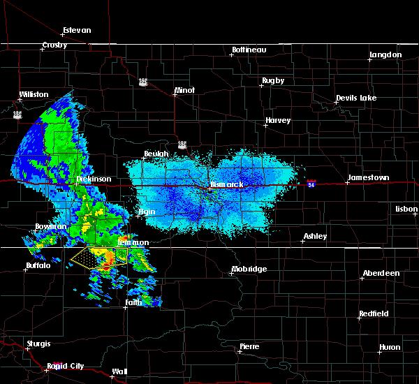 Radar Image for Severe Thunderstorms near Lemmon, SD at 5/31/2020 9:37 PM MDT