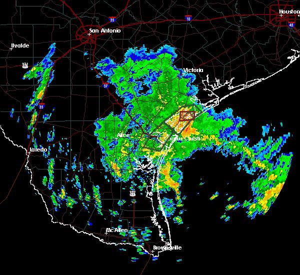 Radar Image for Severe Thunderstorms near Lamar, TX at 6/1/2020 11:22 AM CDT
