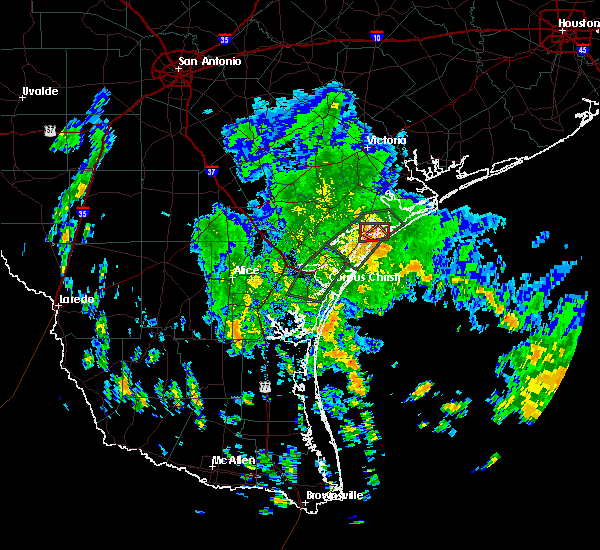Radar Image for Severe Thunderstorms near Lamar, TX at 6/1/2020 11:43 AM CDT