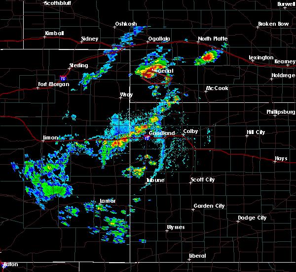 Radar Image for Severe Thunderstorms near Imperial, NE at 6/2/2020 3:59 PM MDT