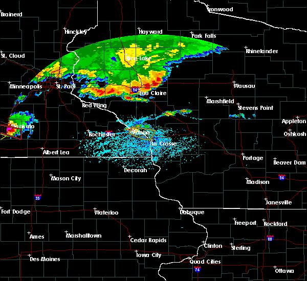 Radar Image for Severe Thunderstorms near Dakota, MN at 6/2/2020 5:21 PM CDT