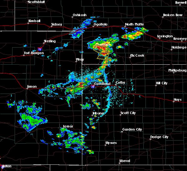 Radar Image for Severe Thunderstorms near Imperial, NE at 6/2/2020 4:33 PM MDT