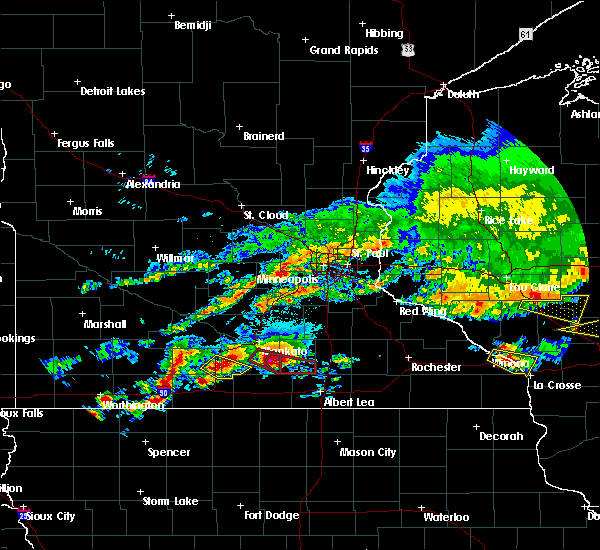 Radar Image for Severe Thunderstorms near Vernon Center, MN at 6/2/2020 5:45 PM CDT