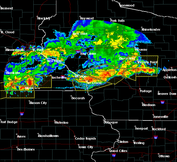Radar Image for Severe Thunderstorms near Sparta, WI at 6/2/2020 6:54 PM CDT