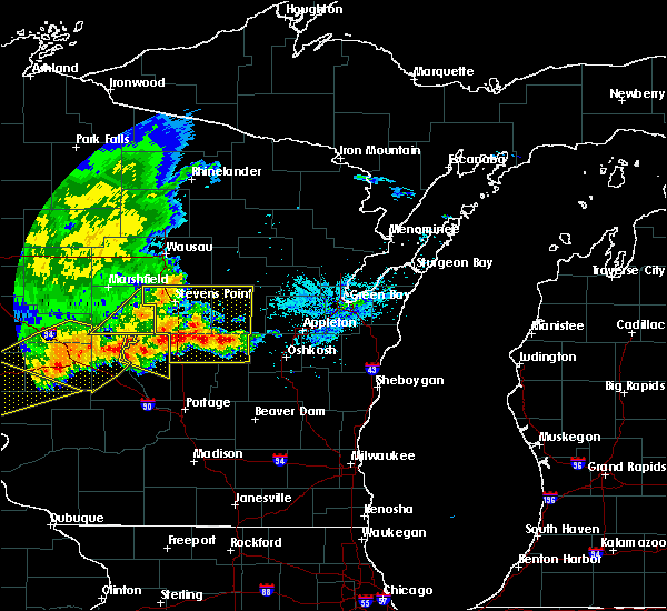 Radar Image for Severe Thunderstorms near Bancroft, WI at 6/2/2020 6:56 PM CDT
