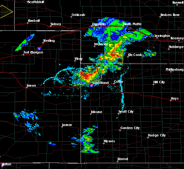 Radar Image for Severe Thunderstorms near Indianola, NE at 6/2/2020 7:07 PM CDT