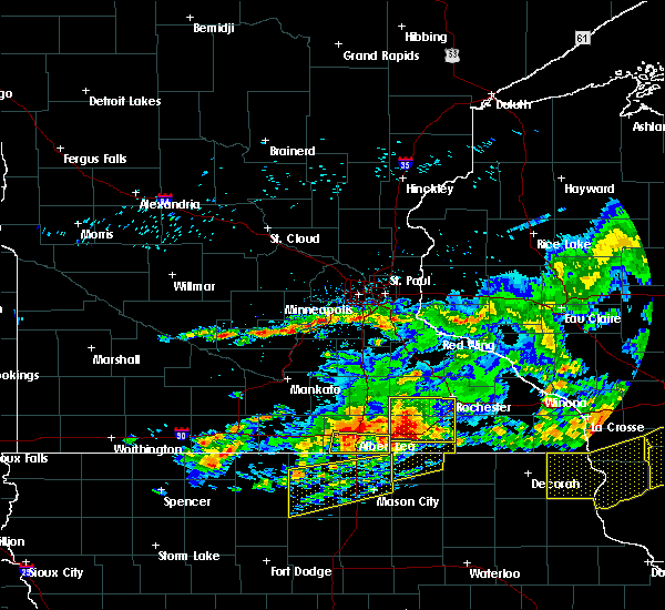Radar Image for Severe Thunderstorms near Emmons, MN at 6/2/2020 7:20 PM CDT