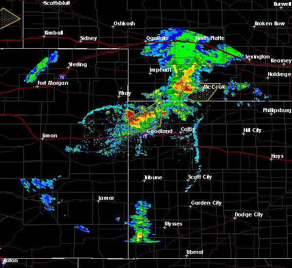 Radar Image for Severe Thunderstorms near Bird City, KS at 6/2/2020 7:24 PM CDT