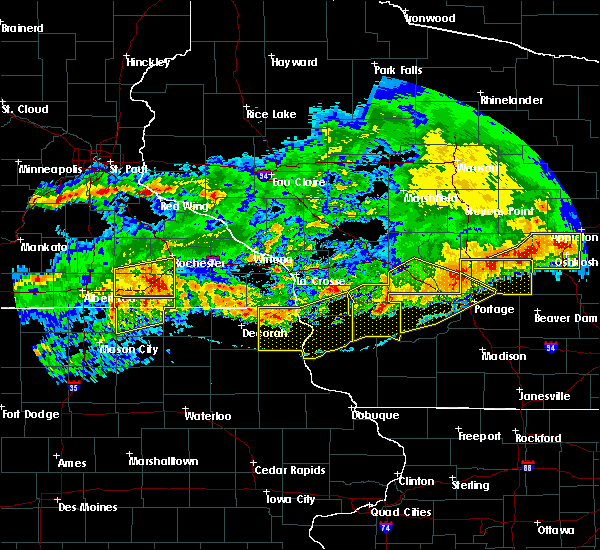 Radar Image for Severe Thunderstorms near Dover, MN at 6/2/2020 7:51 PM CDT