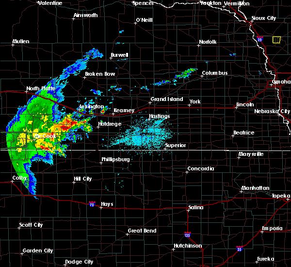 Radar Image for Severe Thunderstorms near Elwood, NE at 6/2/2020 9:42 PM CDT
