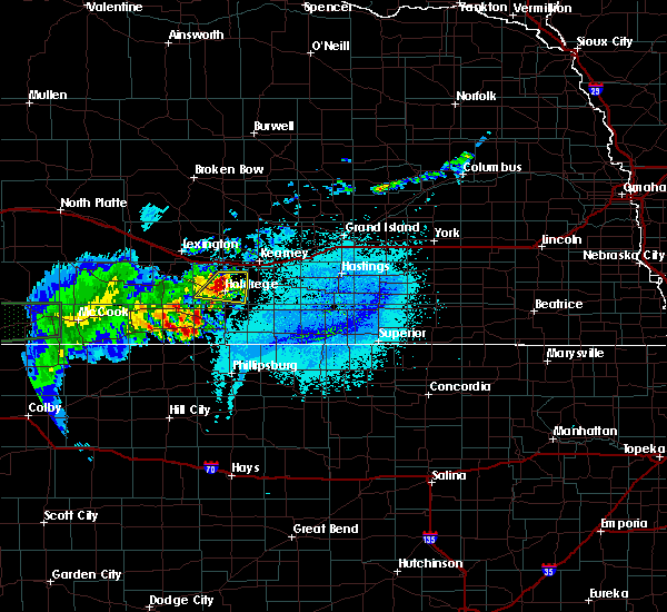 Radar Image for Severe Thunderstorms near Funk, NE at 6/2/2020 10:34 PM CDT