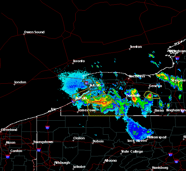 Radar Image for Severe Thunderstorms near Angelica, NY at 6/3/2020 12:28 AM EDT