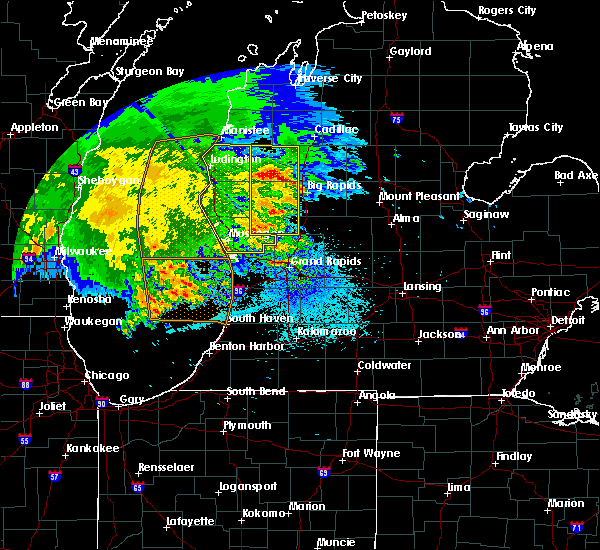 Radar Image for Severe Thunderstorms near Canadian Lakes, MI at 6/3/2020 12:29 AM EDT