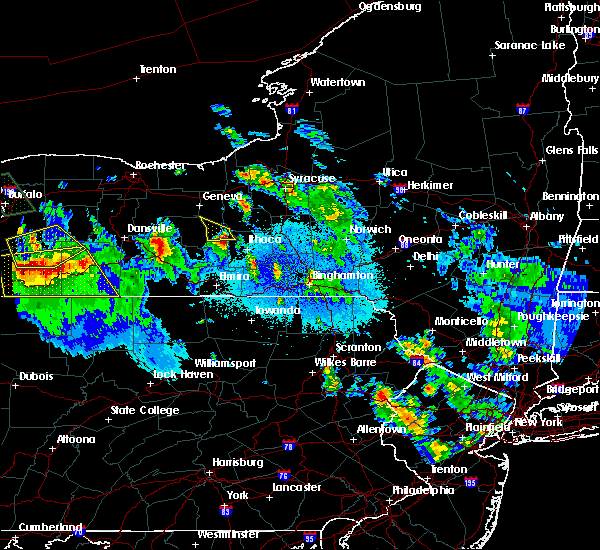 Radar Image for Severe Thunderstorms near East Ithaca, NY at 6/3/2020 12:41 AM EDT