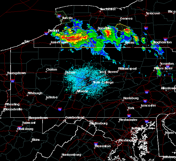 Radar Image for Severe Thunderstorms near Roulette, PA at 6/3/2020 12:42 AM EDT