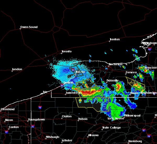 Radar Image for Severe Thunderstorms near Angelica, NY at 6/3/2020 12:47 AM EDT