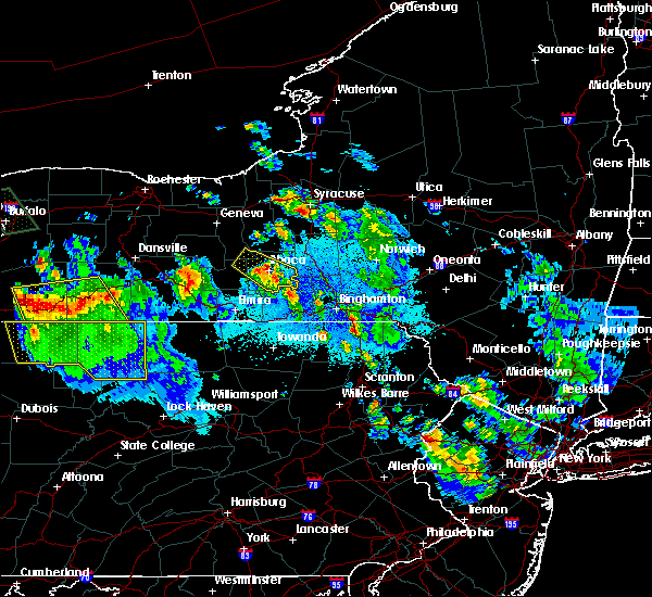 Radar Image for Severe Thunderstorms near East Ithaca, NY at 6/3/2020 12:53 AM EDT