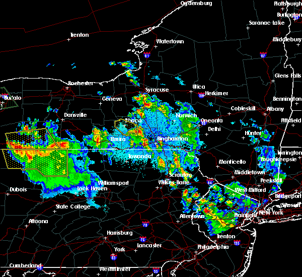 Radar Image for Severe Thunderstorms near East Ithaca, NY at 6/3/2020 1:10 AM EDT